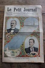 Petit journal dibujada Nº888 1907 Telegrafía Branly Marconi Incursiones