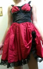 halloween costume victorian bar whiskey girl sexy DRESS moulin rouge 1890s style