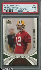2005 Upper Deck #72 Aaron Rodgers RC Rookie PSA 9 Packers