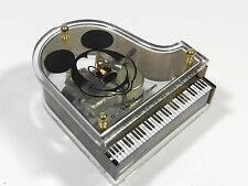Disney Piano Wind Up Music Box Mickey Mouse Club
