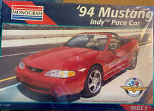 1994 Ford Mustang Convertible Cobra Indy Pace Car Monogram 1/25 New & Sealed!