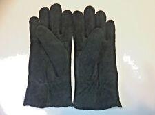 NWOT J Crew Deerskin 100% Wool Pile Lining Forest Green Gloves Size 7M