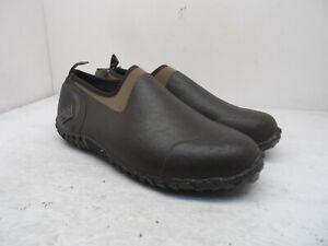 Muck Boot Men's Slip-On Muckster II Rubber Garden Shoes Brown/Tan Size 10M