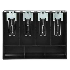 Cash Drawer Register Insert Tray Replacement Cashier with Metal Clip