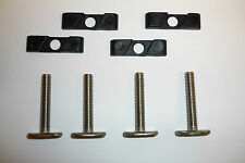 "ROLA T-BOLTS Roof Rack ""C"" Track  M6x35mm  (Pack of 4 ONLY $25) FREE POSTAGE"