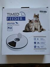 New ListingAutomatic Timed Pet Feeder Cat Or Dog Food Treats