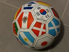Commemorative Soccer Ball featuring flags of World Cup winners through 1990