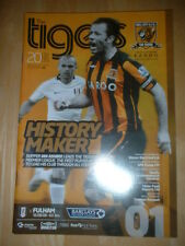 2008/9 HULL CITY V FULHAM - TIGERS FIRST EVER PREMIER LEAGUE GAME