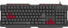 SPEEDLINK FERUS Gaming Keyboard Tastatur Keypad USB Computer PC Gamer Zocker
