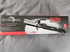 "AfterDark 1-1/4"" Professional Titanium Spring Iron BBH3104"