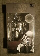 Hasbro Star Wars The Black Series Carbonized Stormtrooper 6 inch