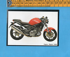 LA MIA MOTO - FIGURINA n.14- CAGIVA RAPTOR 1000 -MASTER COLLECTION-NEW