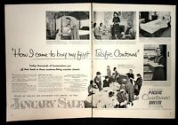 Life Magazine Ad PACIFIC CONTOUR SHEETS 1953 Ad