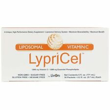 LypriCel Liposomal Vitamin C 1,000 mg (30 Packets) Non-GMO Hexane Free