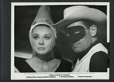 AUDREY HEPBURN + WILLIAM HOLDEN IN MASQUERADE COSTUMES - 1964 PARIS WHEN IT SIZZ