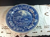 """NWT Spode Milkmaid 10.5"""" Dinner Plate --- Blue Room Collection – Made in England"""