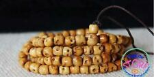 108 Beads Buddhism Tribal Tibetan Yak Bone Skull Meditation Prayer Mala Necklace
