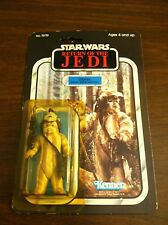 1983 VINTAGE STAR WARS RETURN OF THE JEDI 65 BACK LOGRAY EWOK MEDICINE MAN