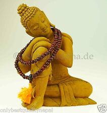 Rosenholz Kette Halskette Mala Rosewood Indien Armband 128b