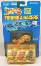 Hot Wheels Mini Formula Racers RARE Set with Micro Ferrari Lamborghini & Porsche