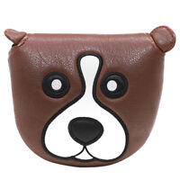 Magnetic Mallet Putter Cover Headcover Golf Club Head Cover Cute Cartoon Puppy