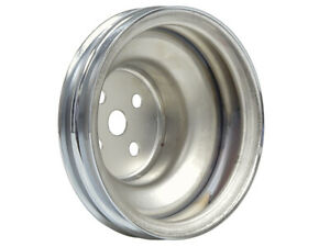 New 1965-69 Ford Water Pump Pulley 289 302 351W 390 428 Mustang Galaxie Chrome