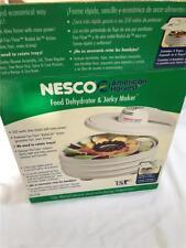 NEW NESCO AMERICAN HARVEST SNACKMASTER FOOD DEHYDRATOR & JERKY MAKER FD-27
