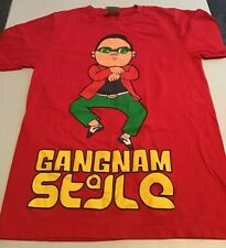Psy Gangnam Style Graphic T-Shirt Size M 100% Cotton