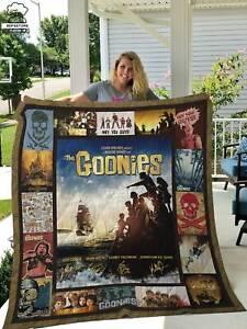 The Goonies Funny Birthday Throw Blanket Vintage Gift For Men Women