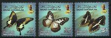Brunei 2013 Butterflies Series II set of 3 MNH