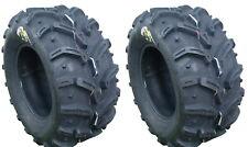 Pair 2 Deestone Swamp Witch 25x12-10 ATV Tire Set 25x12x10 D932 25-12-10