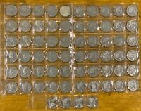 50 cent coin collection 1966 - 2020 circulated Total 67 Coins UNC Jody Clark IRB