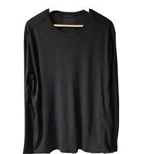 Patagonia Black Lightweight Capilene CoolBaselayer Top Shirt Long Sleeve Men XL