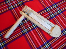 Wooden Ratchet Single Long Ratchet Groggier Sports Loud Percussion Instruments