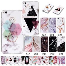 Marble Printed Silicone Soft Case Cover For Huawei P8 P9 P10 Lite Mate 10 Lite
