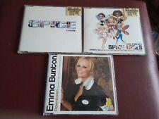 More details for spice girls & emma bunton single cds, wannabe, viva forever - downtown.