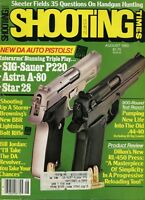 SHOOTING TIMES Magazine August 1983 Bew DA Auto Pistols