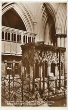 Hertfordshire Postcard - Shrine of St Albans & Watching Gallery St Albans  A9797