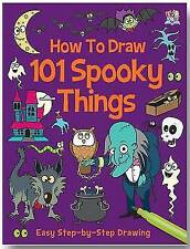 How To Draw 101 Spooky Things NEW (Paperback) Art book