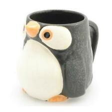 NEW Black PENGUIN Mug for Coffee Tea Hot Cocoa 12 oz Ceramic Adorable