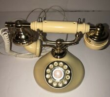 Vintage Victorian Style Princess Rotary Dial Phone Tested And Working Props