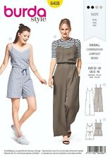 Burda Style Schnittmuster - Overall , Jumpsuit - Nr.6408