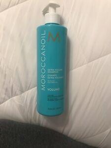 New Moroccanoil Extra Volume Shampoo 16.9 oz/ 500 ml Travel Size Color-safe