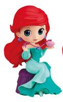 Banpresto Q posket perfumagic Disney Character Ariel Figure Figurine 12cm normal