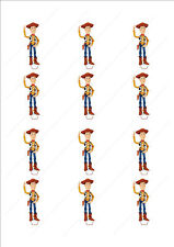 Novelty Woody Toy Story Edible Cake Cupcake Toppers Decorations Birthday Kids