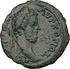 COMMODUS 177AD Ancient Roman Coin ROMULUS REMUS found Rome  WOLF  i22254