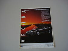 advertising Pubblicità 1990 OPEL VECTRA 2000 16V 4X4