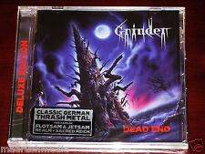 Grinder: Dead End - Deluxe Edition CD 2013 Bonus Tracks Divebomb USA DIVE052 NEW