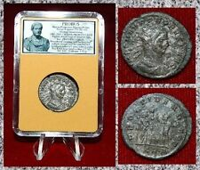 New ListingAncient Roman Empire Coin Of Probus Providentia And Sol Standing Together
