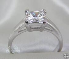 1 ct Princess Cut Engagement/Wedding Ring, Size 5
